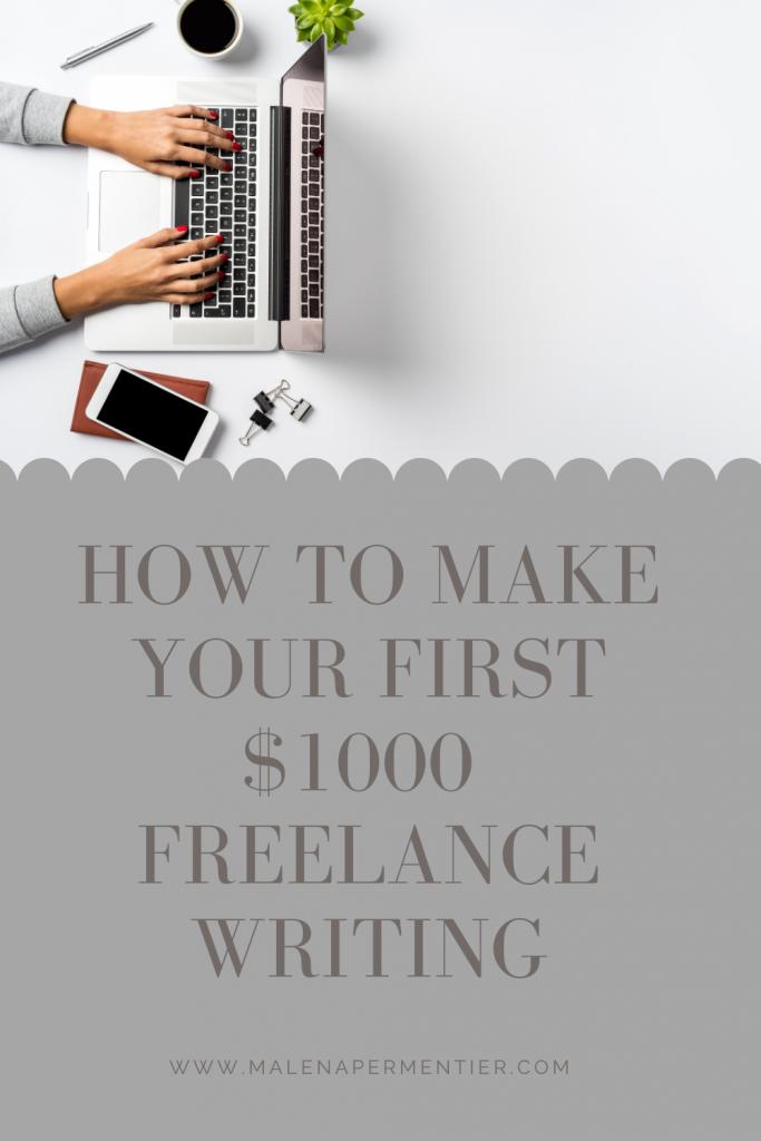 freelance writing on upwork