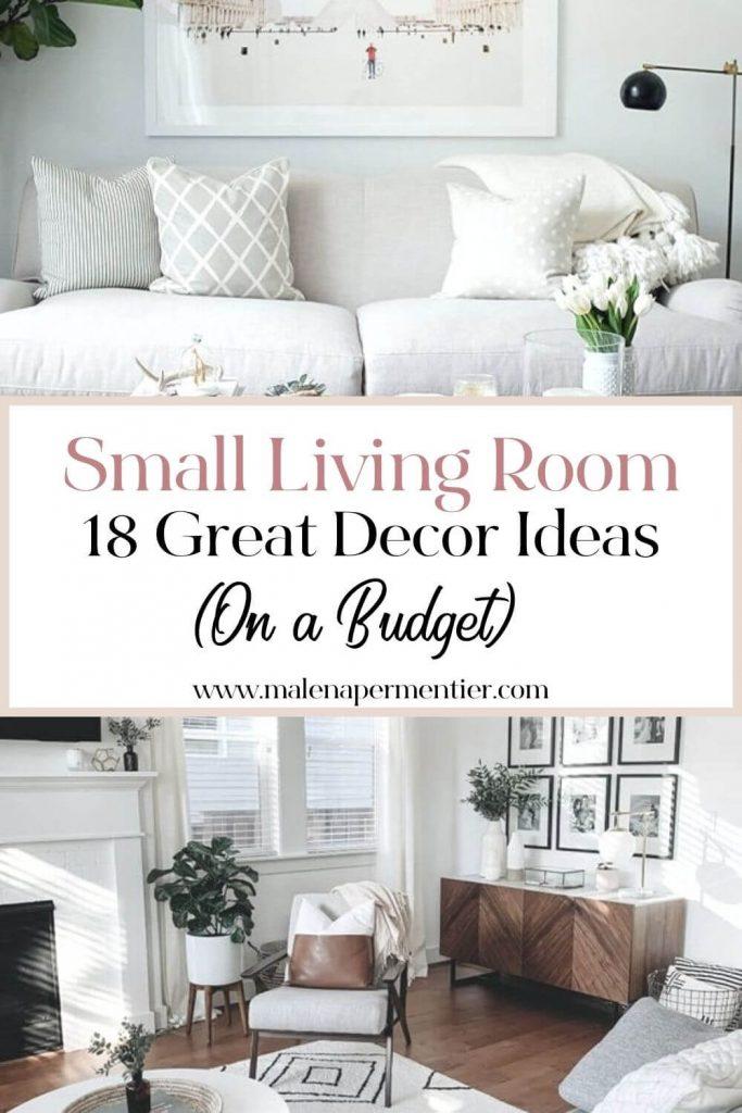 decor ideas small living room