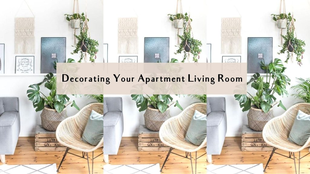decorating your apartment living room