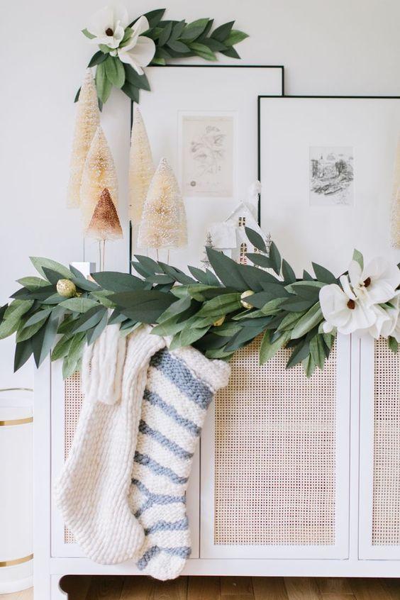 holiday paper garland