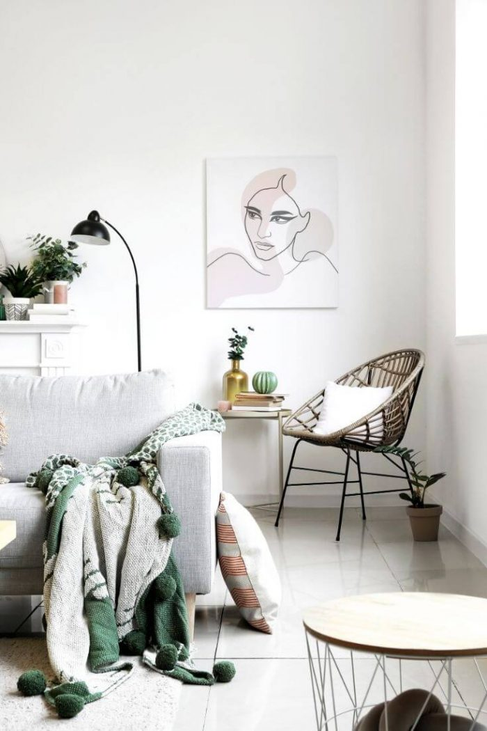 22 Brilliant Ideas For Decorating Your Apartment Living Room On a Budget