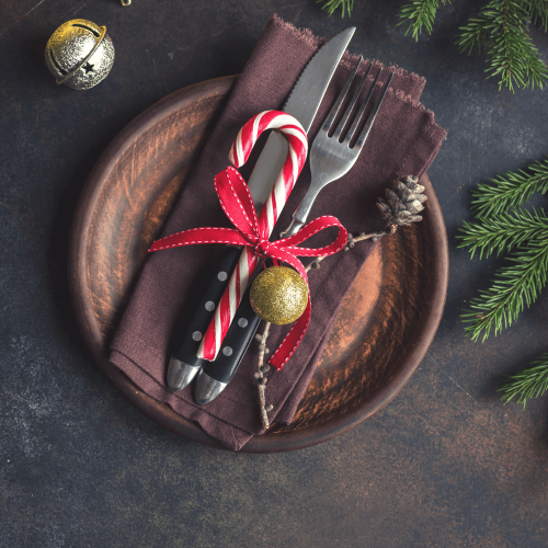 rustic christmas tablescape essentials