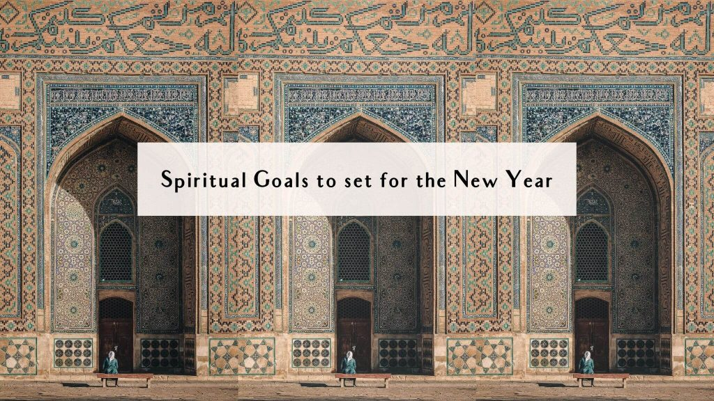 spiritual goals to set for new year