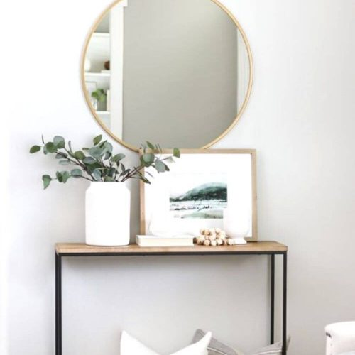 entryway table for a small apartment