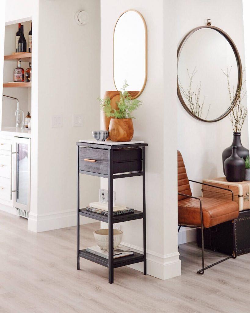 narrow entryway table ideas