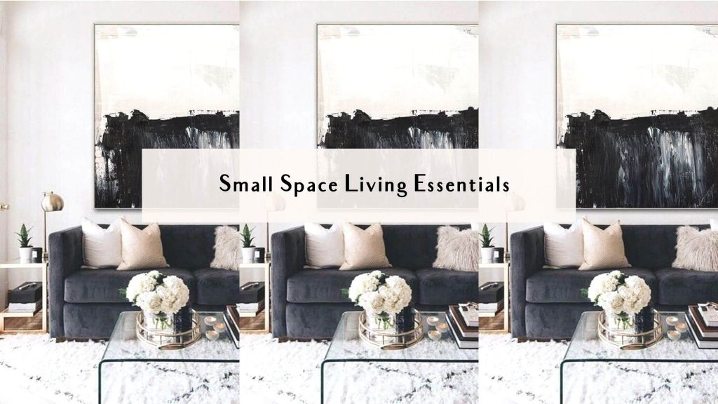 small space living essentials
