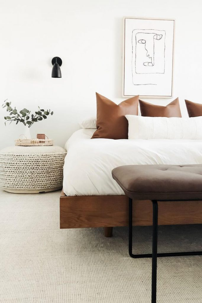 how to make a small bedroom feel bigger