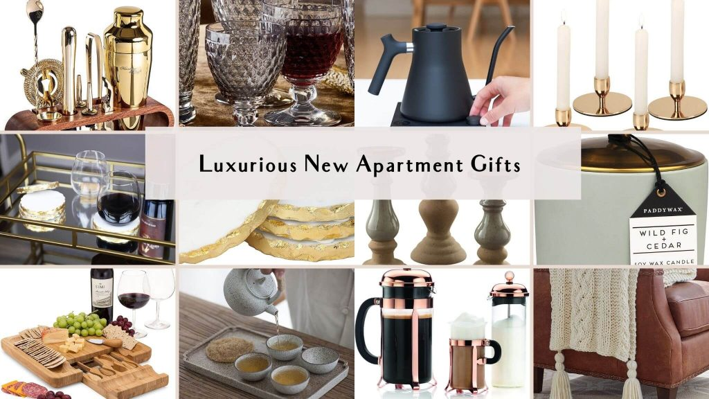 luxurious new apartment gifts