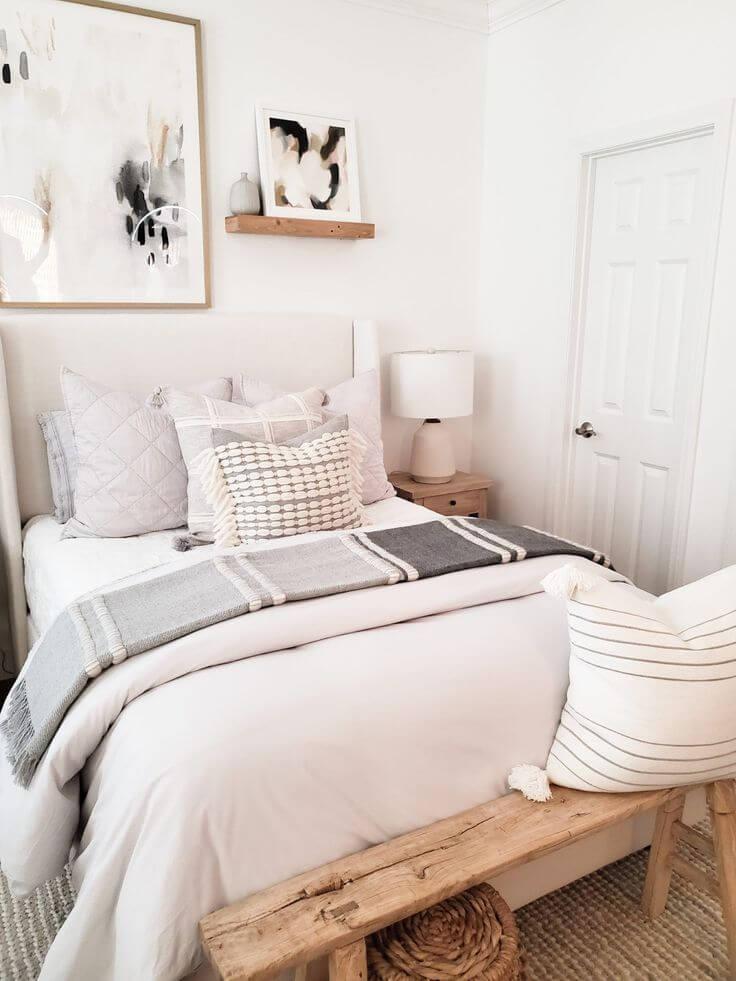 simple neutral bedroom