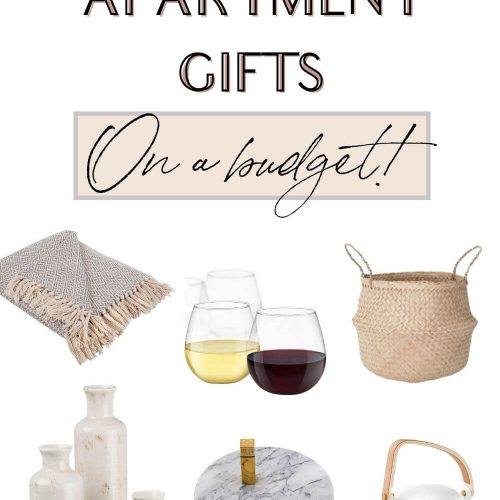 first apartment gifts on a budget