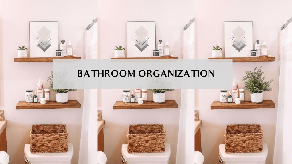 bathroom organization ideas small spaces