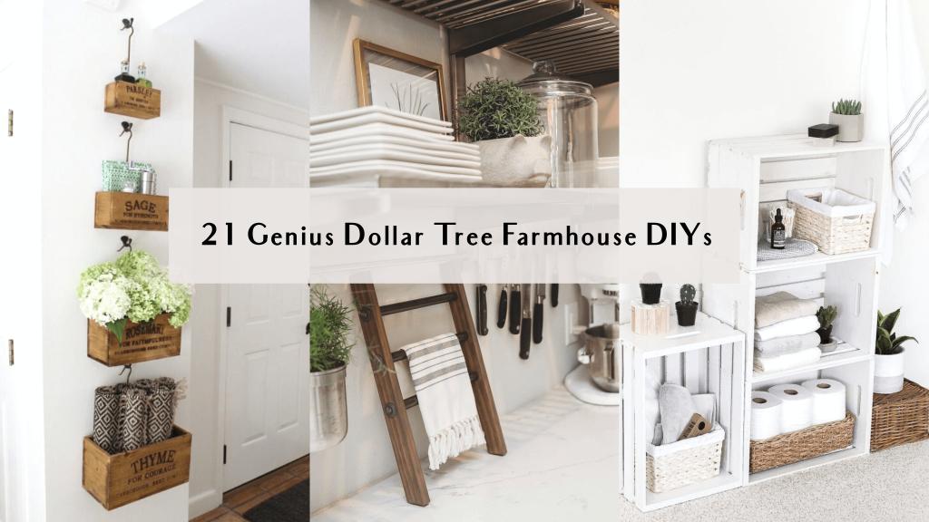 dollar store farmhouse diy