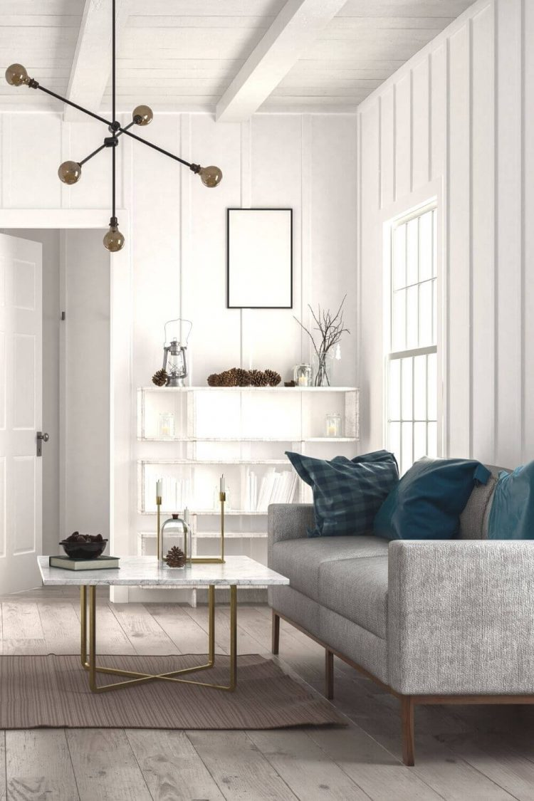 how to arrange furniture in a narrow living room