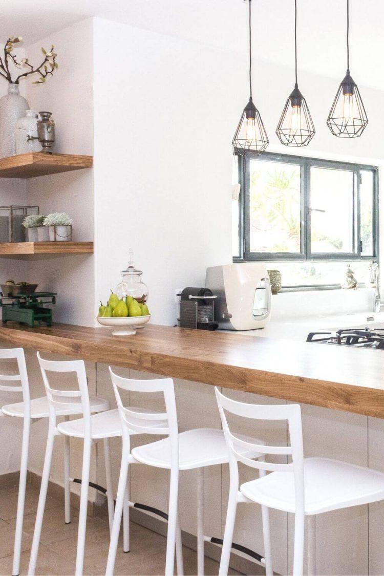 kitchen counter organization