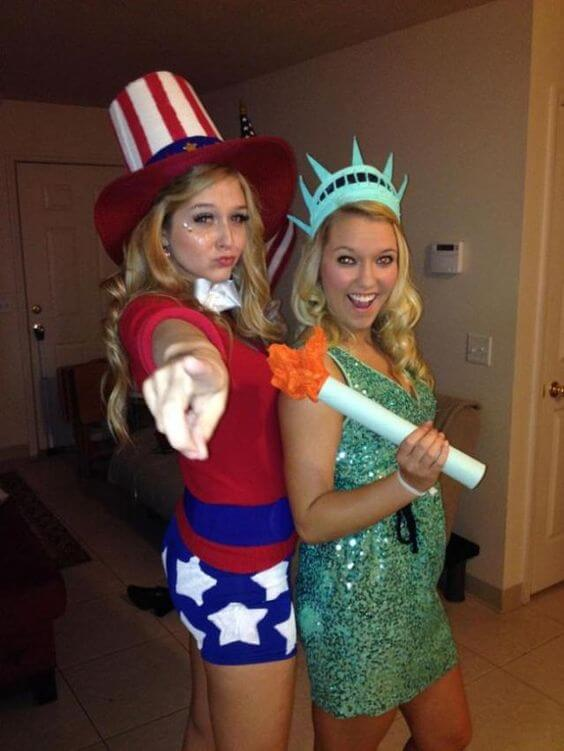 land of the free college costumes halloween