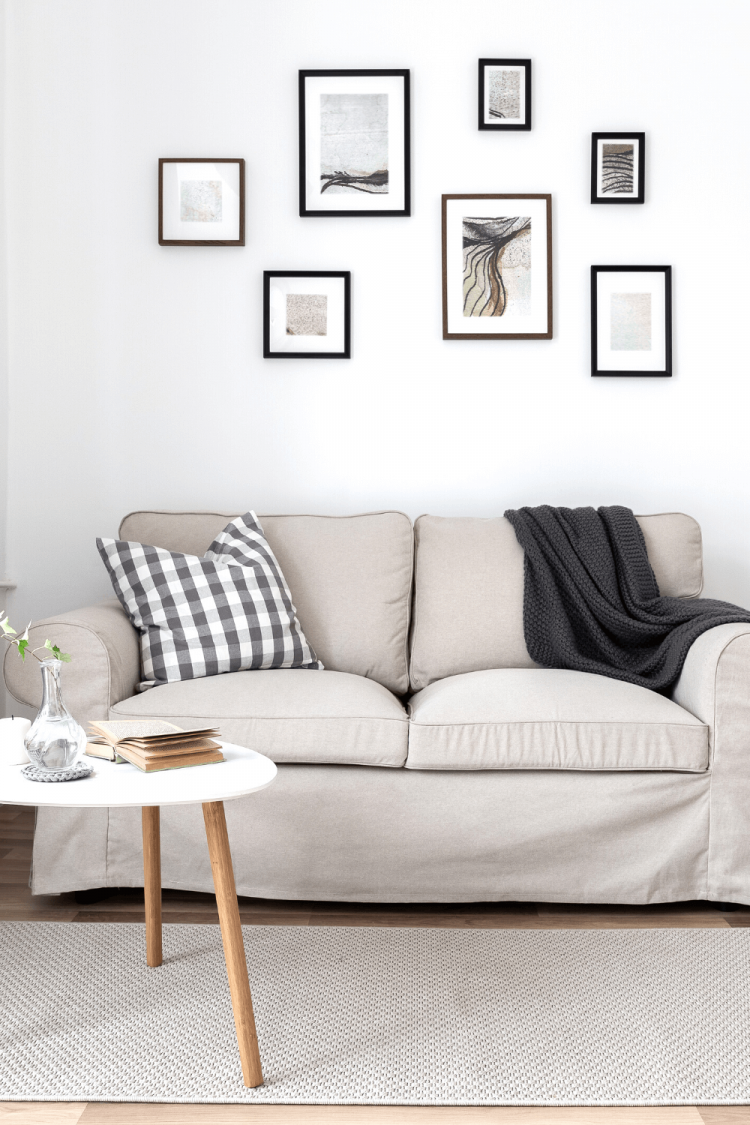 furnishing a small apartment on a budget