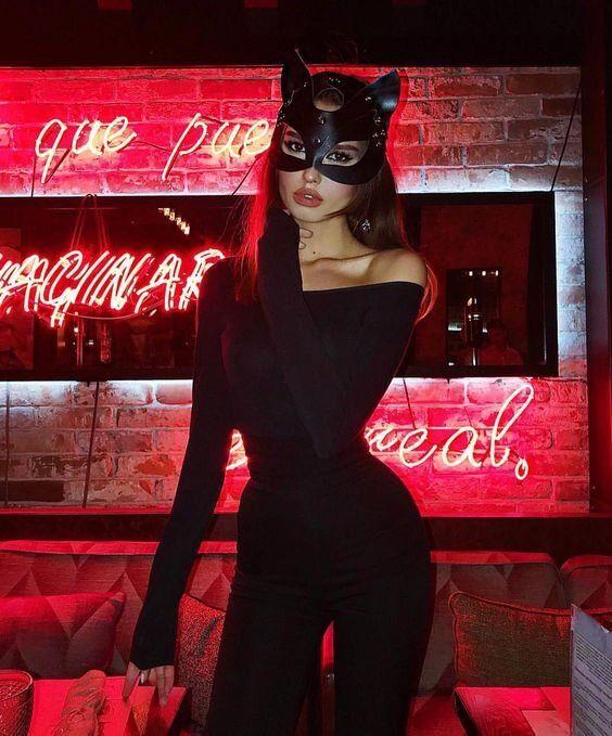 catwoman halloween costume diy