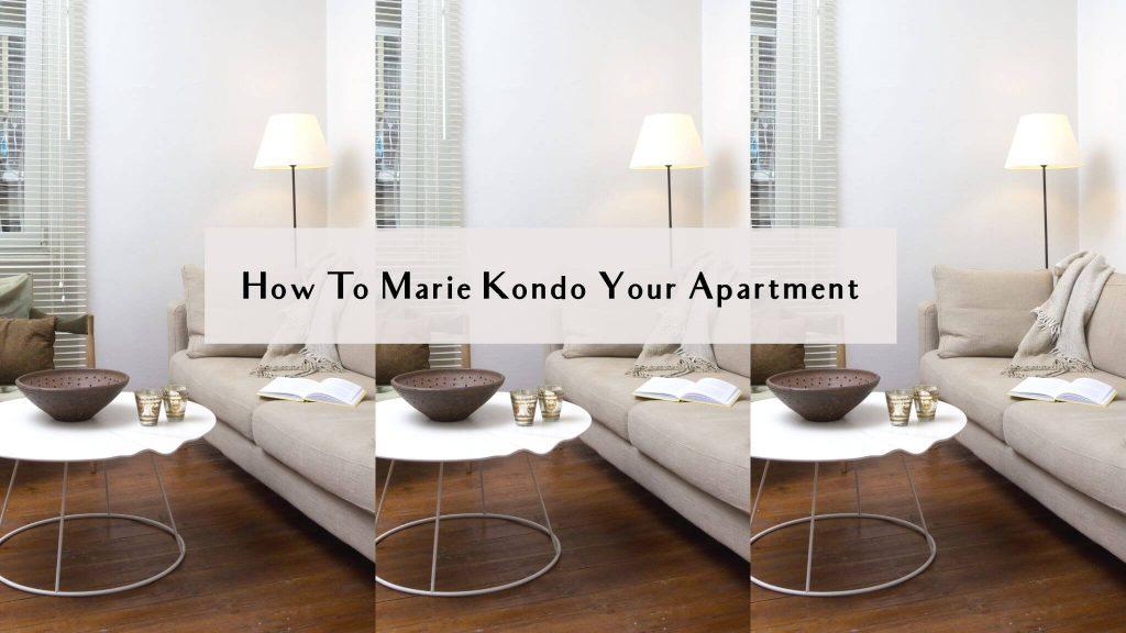 marie kondo apartment