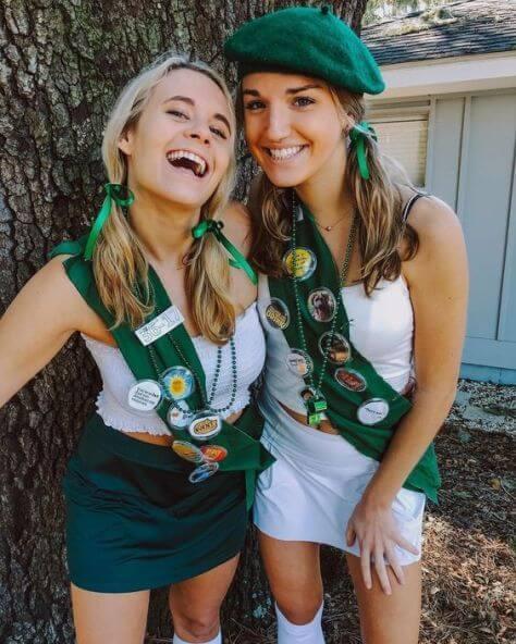 cute girl scout halloween costume