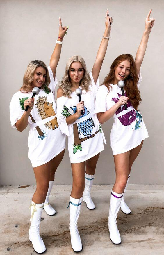 donna and the dynamos halloween costume
