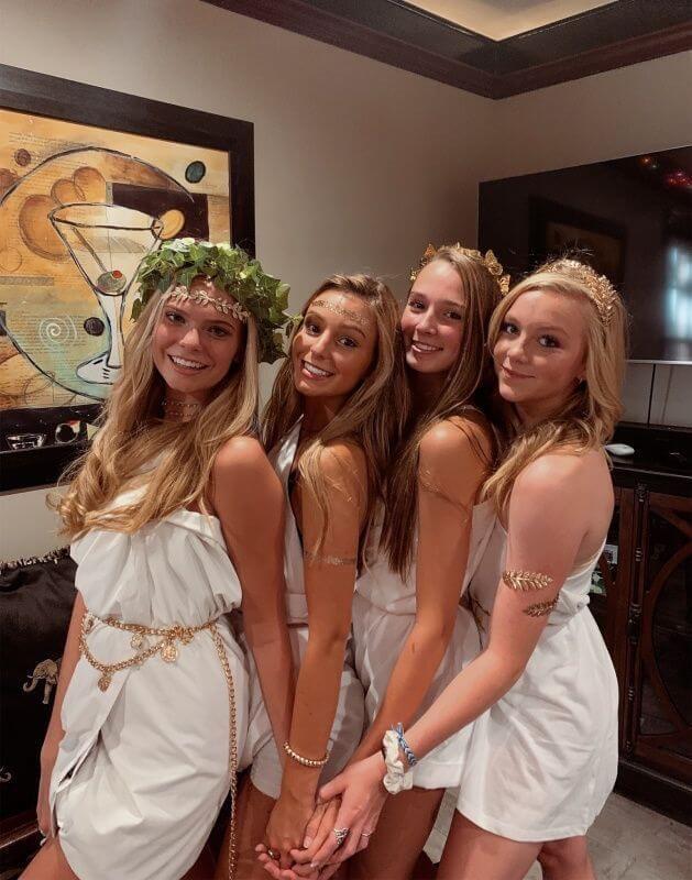 greek goddess halloween costume college