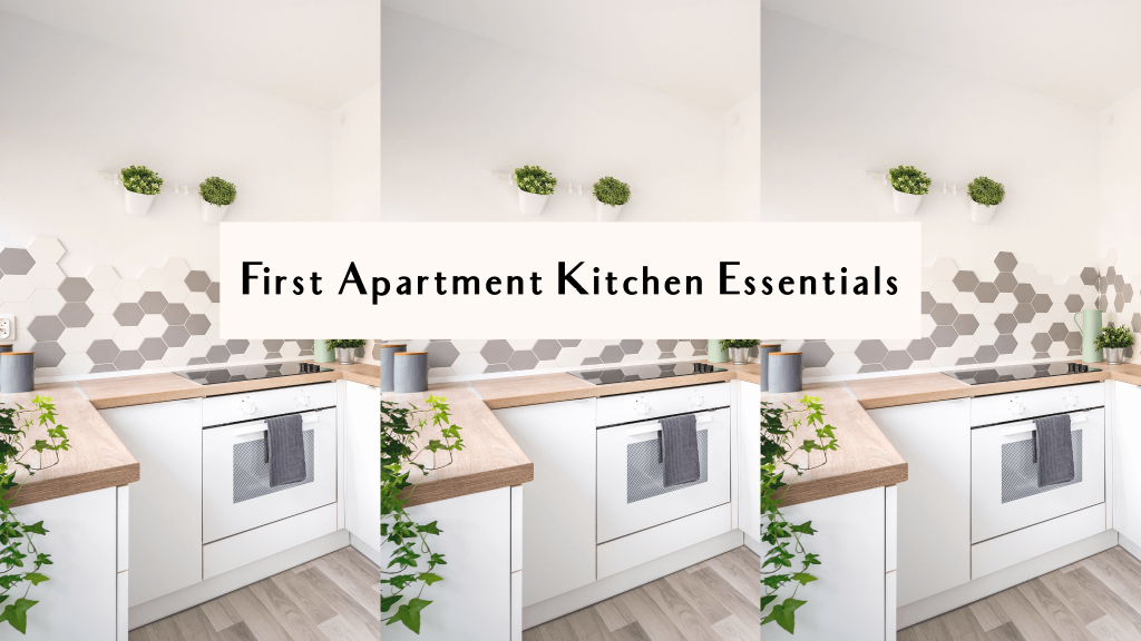 list of kitchen essentials for new home