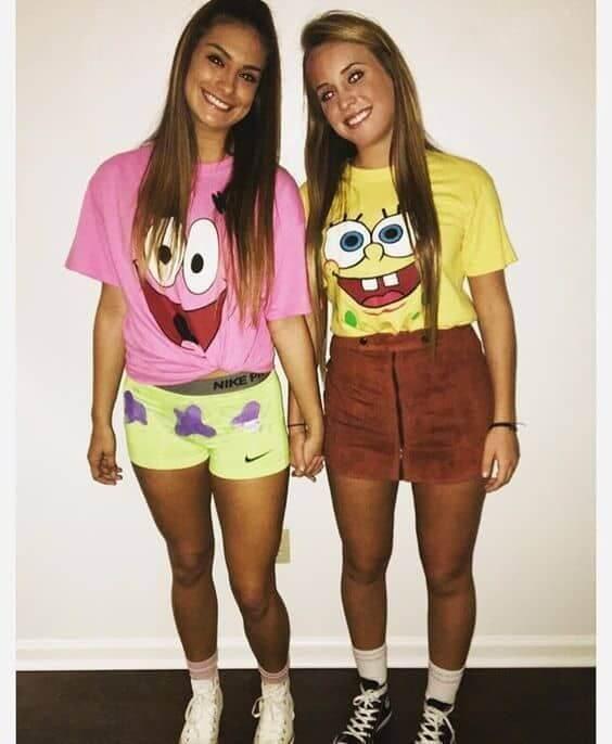 spongebob halloween costume girl