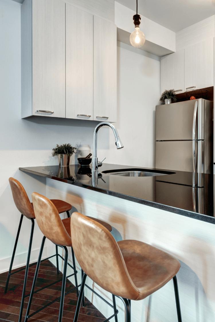 small apartment kitchen organization ideas