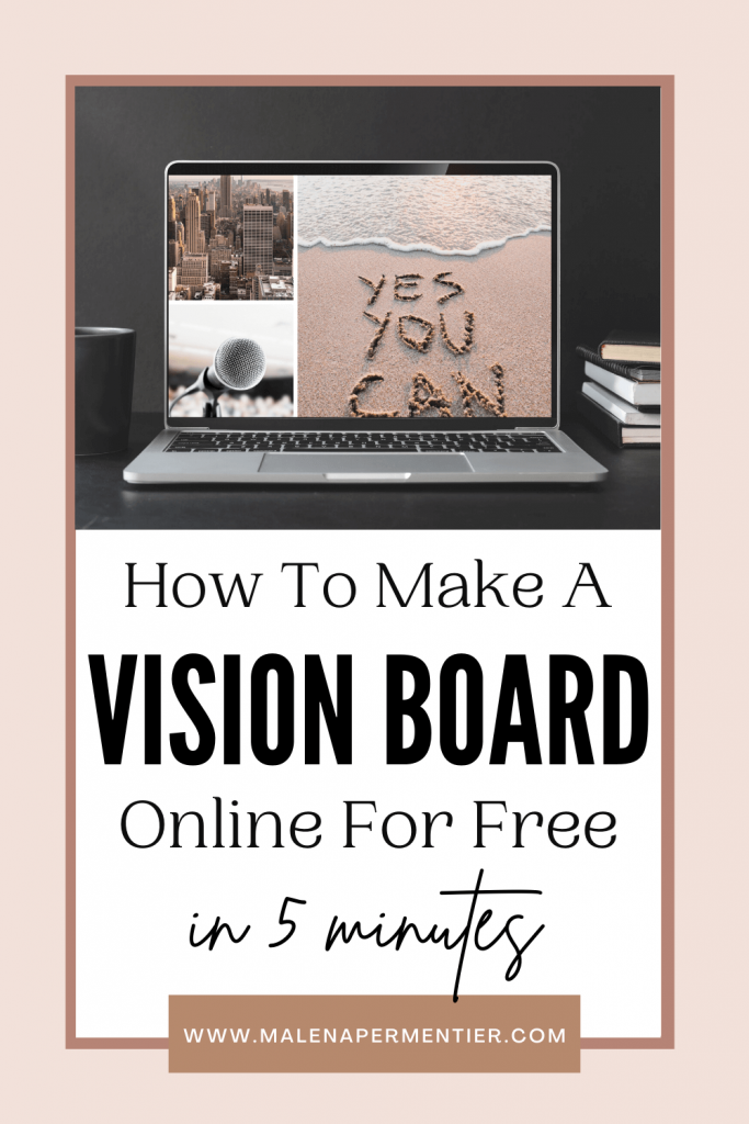 create vision board online free