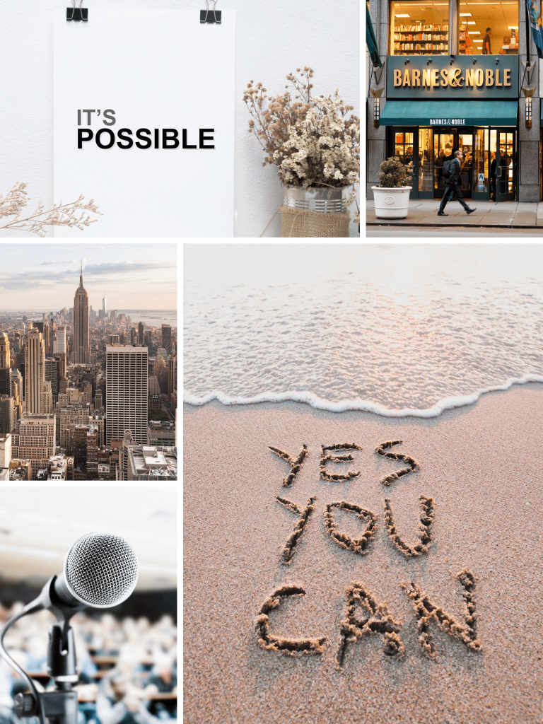 online vision board example